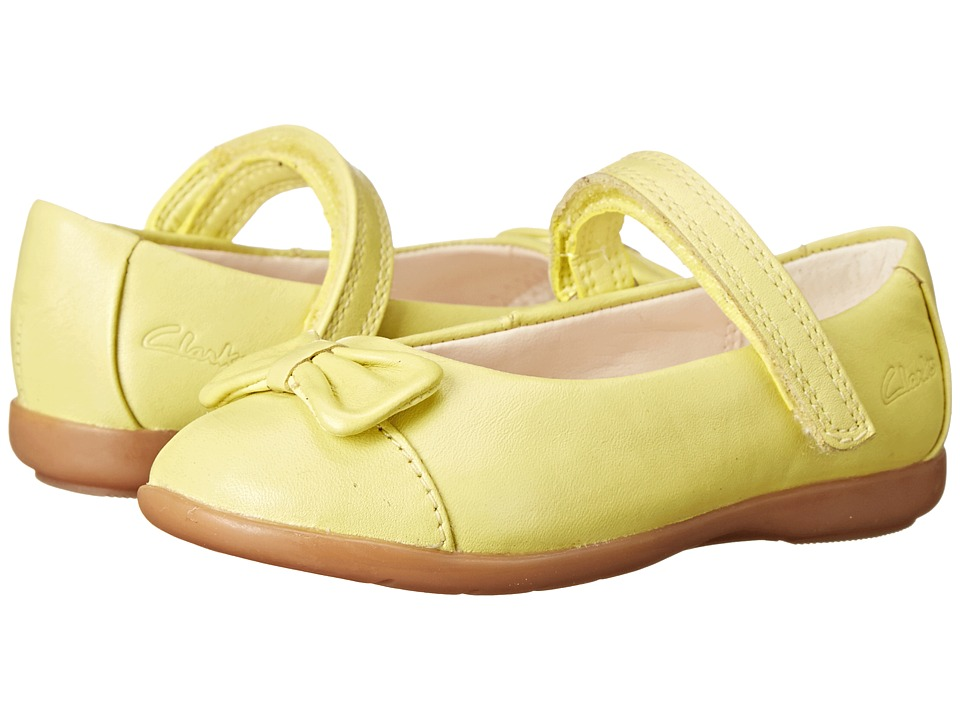 Clarks Kids - Dance Harper (Toddler) (Lime) Girl's Shoes