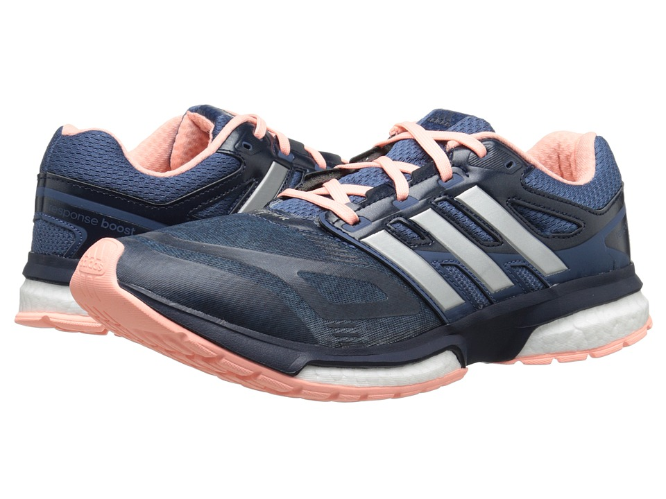 adidas Running - Response Boost Techfit (Vista Blue/Silver Metallic/Collegiate Navy (Graphic)) Women