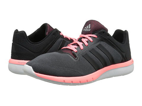 adidas Running - CC Fresh 2 W (Black/Light Flash Red) Women's Running Shoes