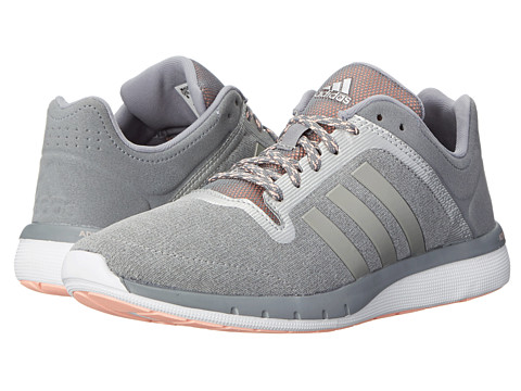 adidas Running - CC Fresh 2 W (Grey/Silver Metallic/Light Flash Orange) Women