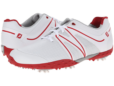 FootJoy - M Project (White/Red) Men's Golf Shoes