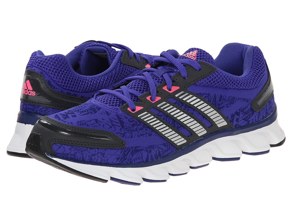 adidas Running - Powerblaze W (Night Flash/Silver Metallic/Solar Pink) Women's Running Shoes