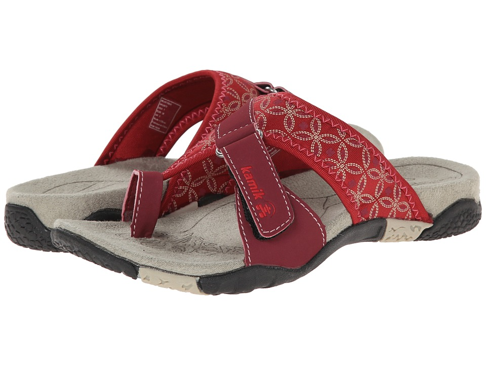Kamik - Mustique (Red) Women's Sandals