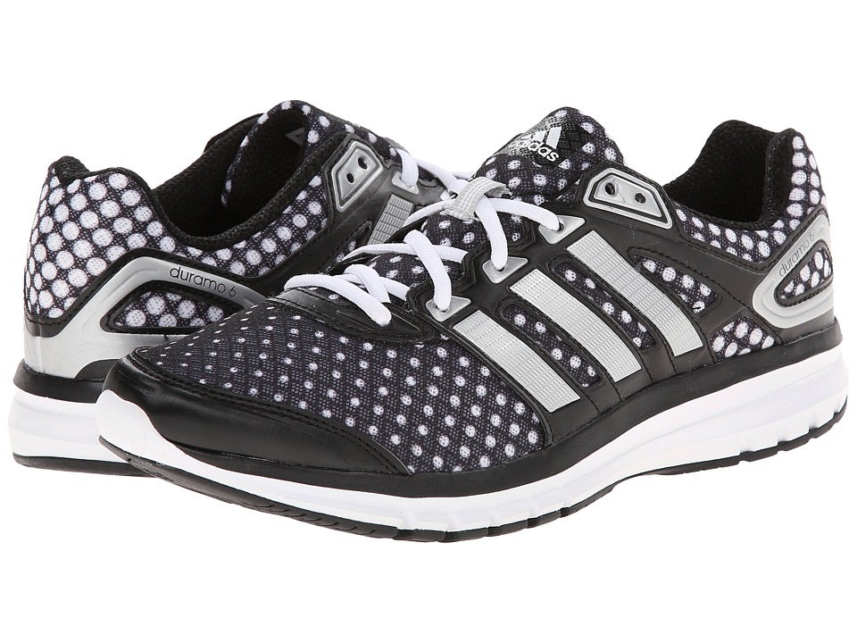 adidas Running - Duramo 6 W (Black/Silver Metallic/White) Women's Running Shoes