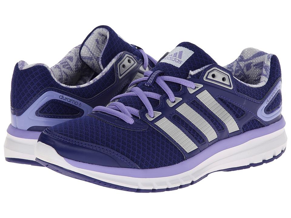 adidas Running - Duramo 6 W (Amazon Purple/Silver Metallic/Light Flash Purple) Women's Running Shoes