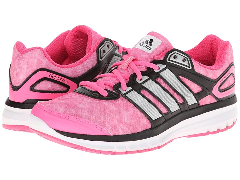 adidas Running - Duramo 6 W (Solar Pink/Silver Metallic/Black) Women's Running Shoes