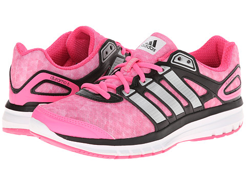 adidas Running - Duramo 6 W (Solar Pink/Silver Metallic/Black) Women's Running Shoes