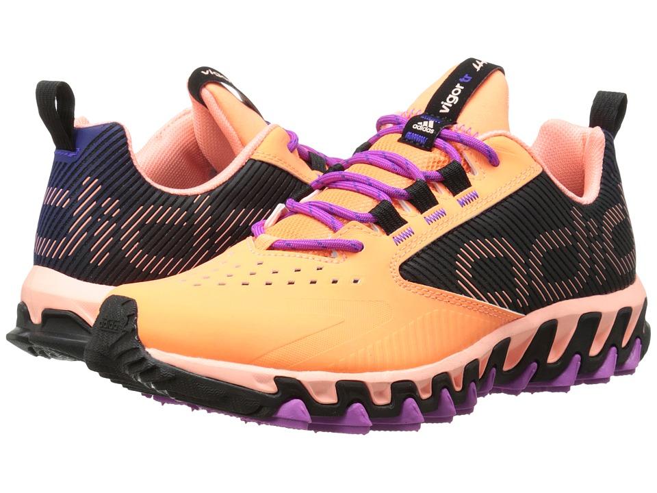 adidas Running - Vigor 5 TR (Night Flash/Black/Solar Red) Women's Running Shoes