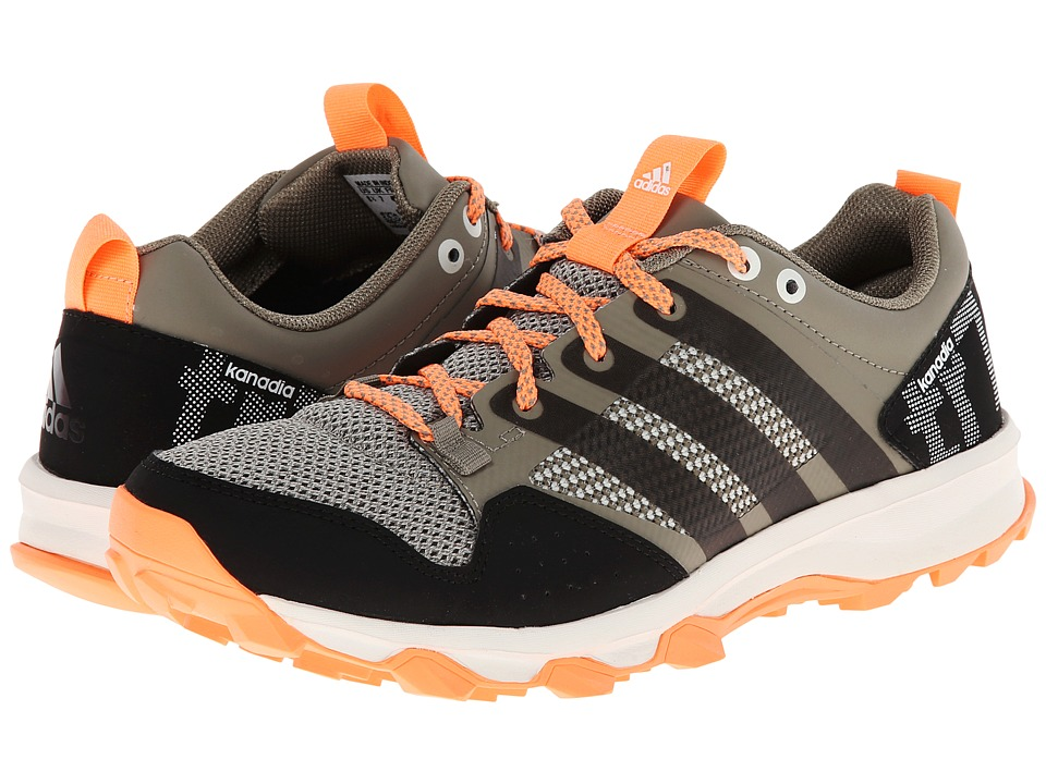 adidas Running - Kanadia TR 7 (Clay/Chalk White/Flash Orange) Women's Running Shoes