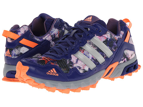 adidas Running - Thrasher 1.1 W (Amazon Purple/Silver Metallic/Flash Orange) Women's Running Shoes