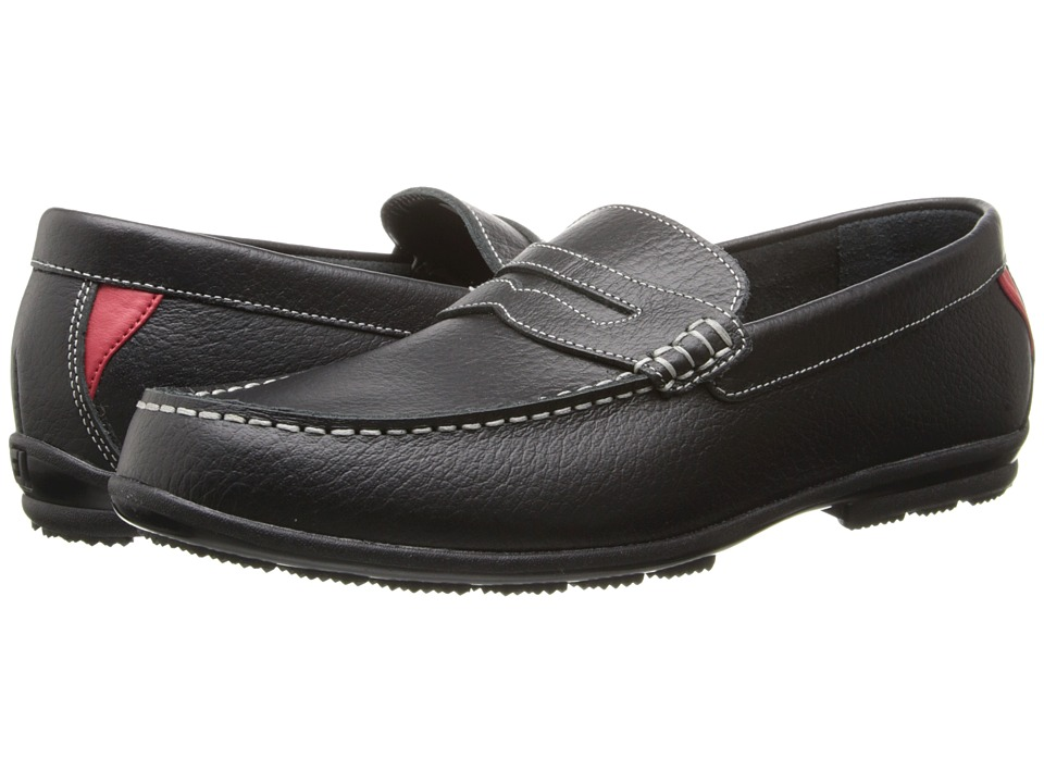 FootJoy - Club Casual Penny Loafer (Black 1) Men's Golf Shoes