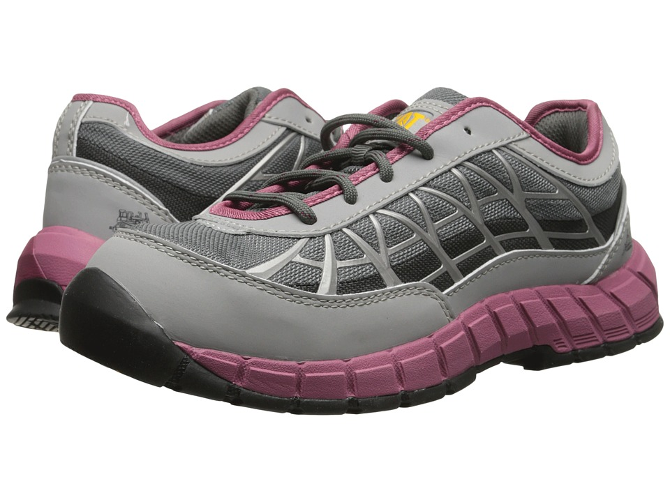 Caterpillar - Connexion Steel Toe (Grey) Women's Industrial Shoes