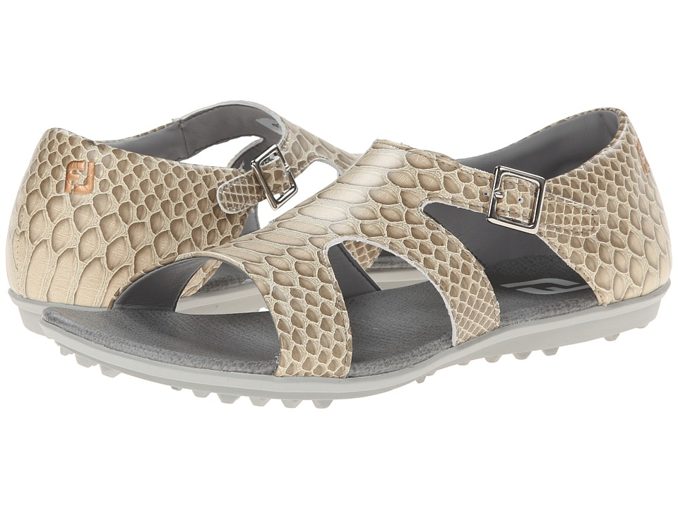FootJoy - Fashion Sandal (Beige) Women's Dress Sandals