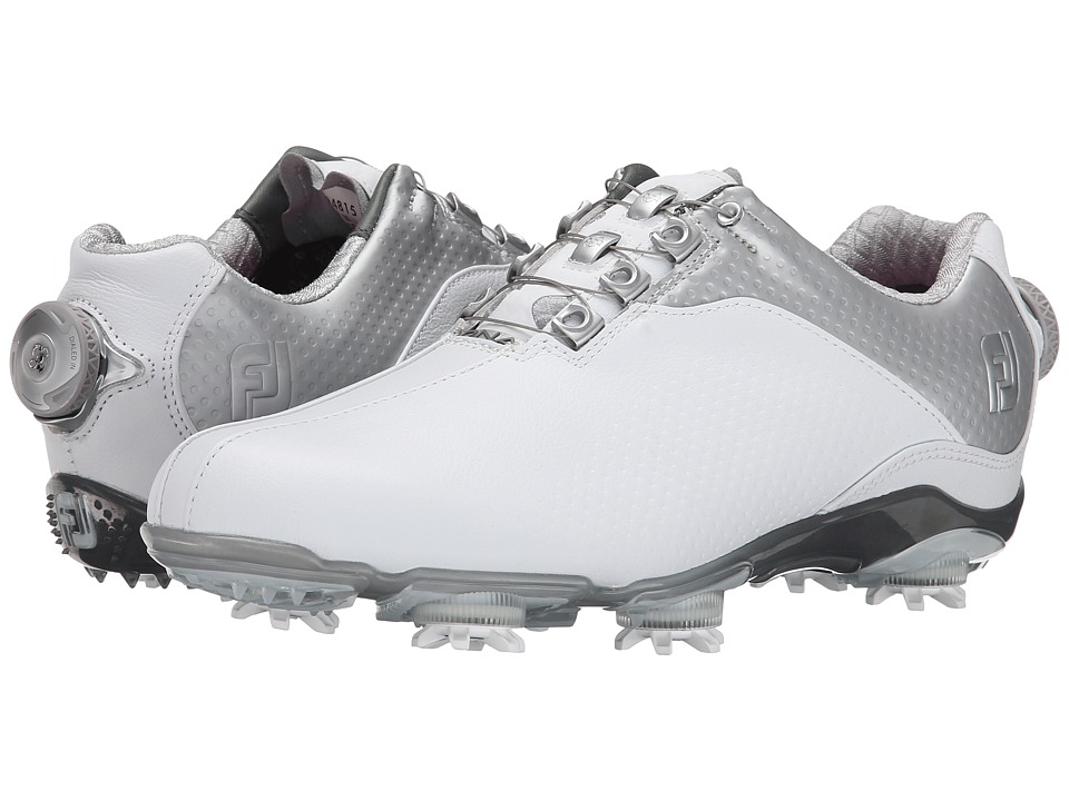 FootJoy - DNA (White/Silver) Women's Golf Shoes