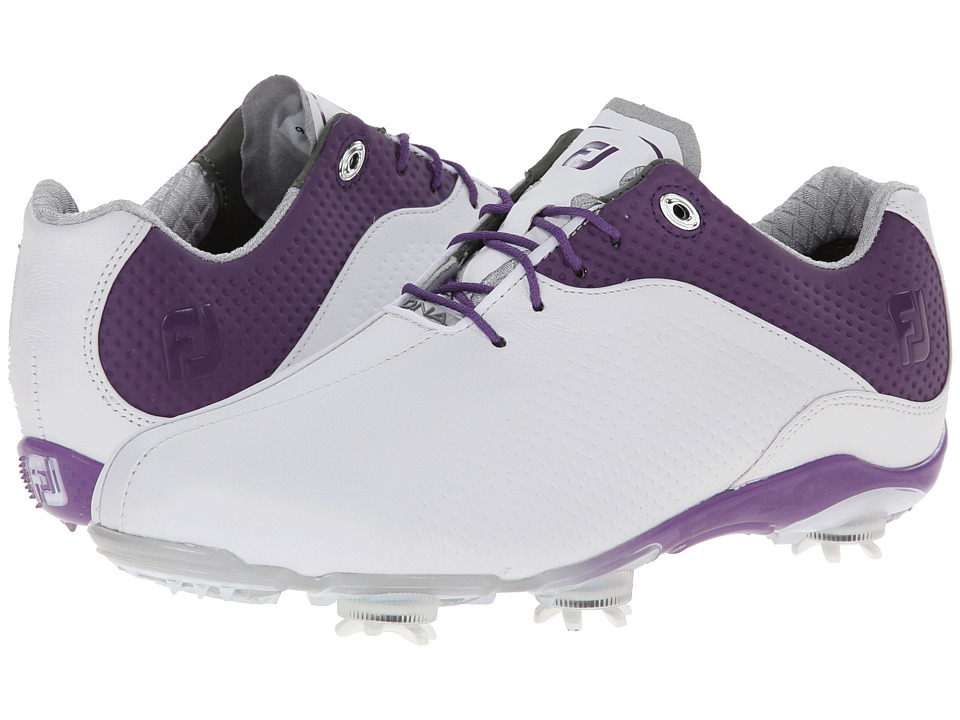 FootJoy - DNA (White/Purple) Women's Golf Shoes