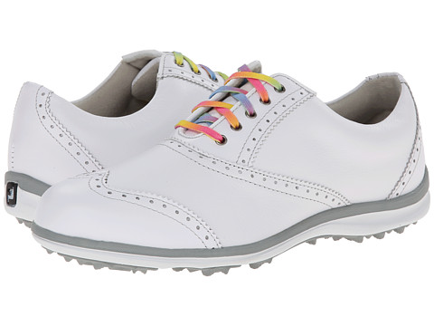 FootJoy - LoPro Casual (White/Silver) Women