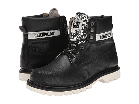 Caterpillar - Colorado Walala (Black) Men's Lace-up Boots