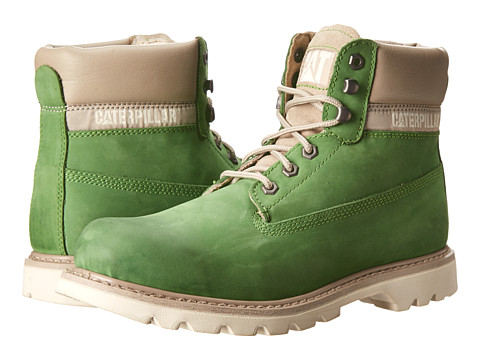 Caterpillar - Colorado Burnish Brights (Fluorite Green) Men's Lace-up Boots