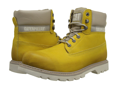 Caterpillar - Colorado Burnish Brights (Yellow) Men's Lace-up Boots