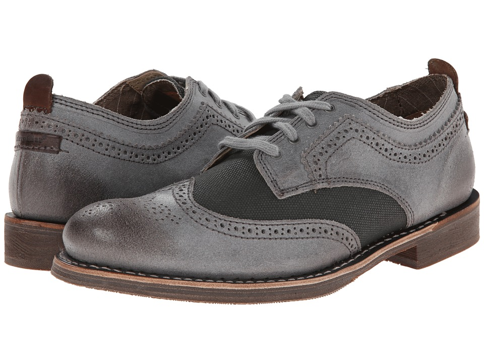 Caterpillar - Vaught (Light Blue) Men's Lace Up Wing Tip Shoes