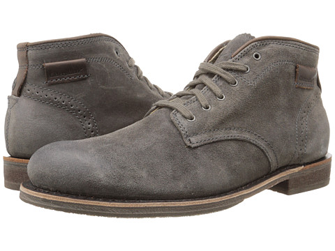 Caterpillar - Caine Mid (Dark Grey) Men's Lace-up Boots