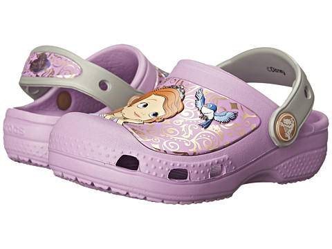 Crocs Kids - Sofia the First Clog (Toddler/Little Kid) (Iris) Girls Shoes