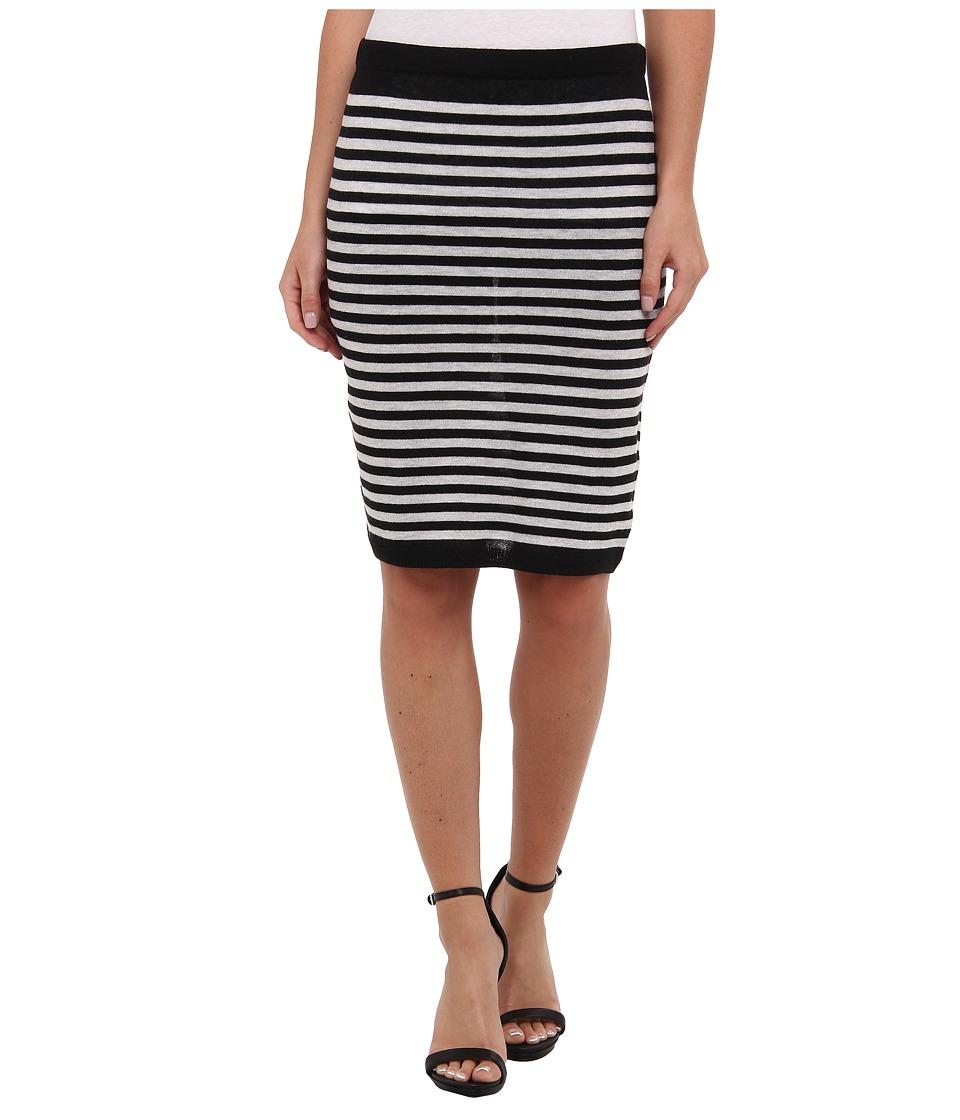 Soft Joie - Bethanne Skirt (Caviar/Heather Grey) Women's Skirt