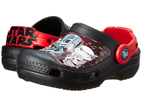 Crocs Kids - Star Wars Darth Vader Clog (Toddler/Little Kid) (Black) Boys Shoes