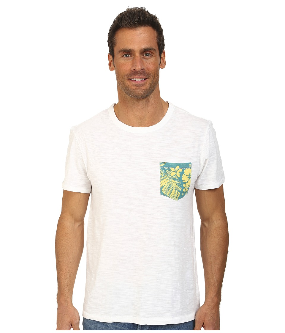 Life is good - Slub Pocket Tee (Cloud White) Men