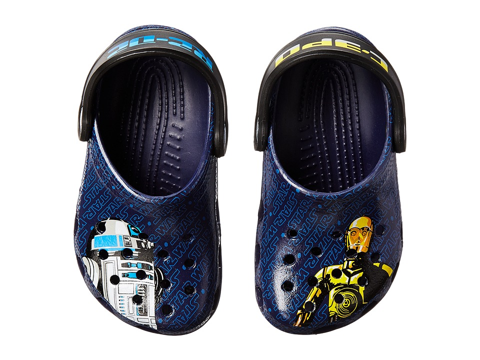 Crocs Kids - Classic Star Wars Clog (Toddler/Little Kid) (Nautical Navy) Boys Shoes