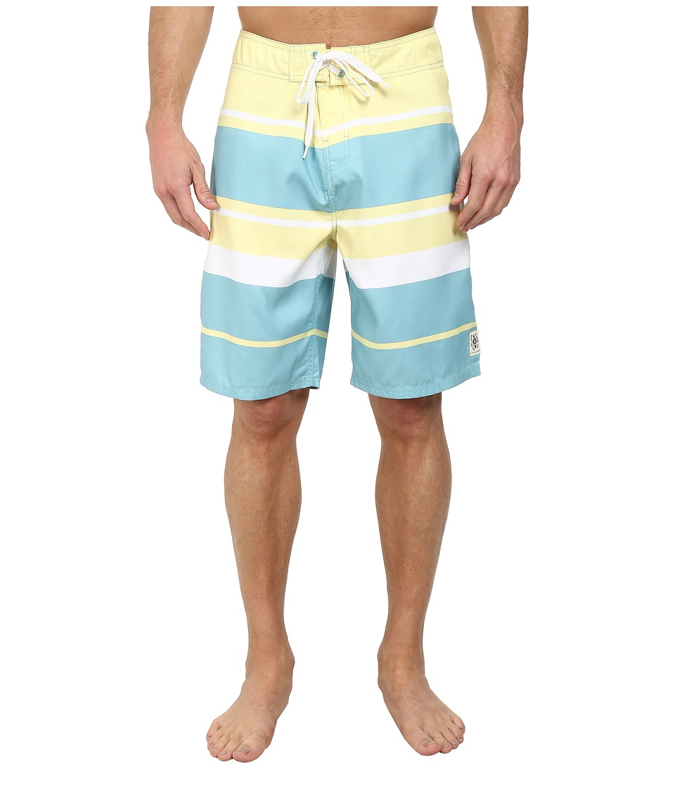 Life is good - Bold Coast Boardshorts (Soft Teal) Men