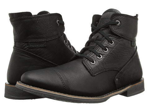 Caterpillar - Quinton (Black) Men's Lace-up Boots