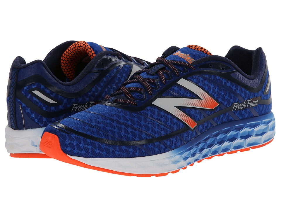 New Balance - Fresh Foam Boracay (Blue/Orange) Men