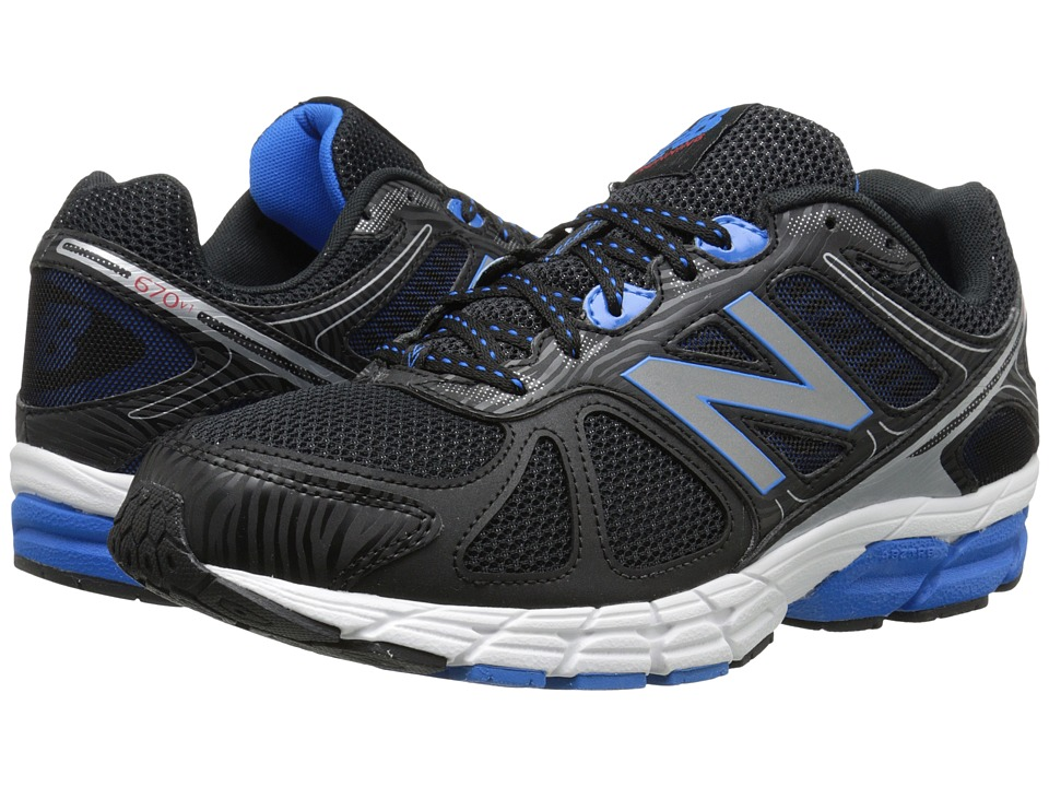 New Balance - 670v1 (Blue/Black) Men