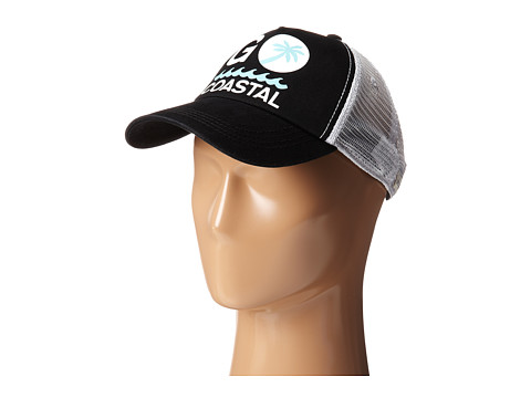 Life is good - Cruiser Mesh Back Cap (Night Black) Baseball Caps