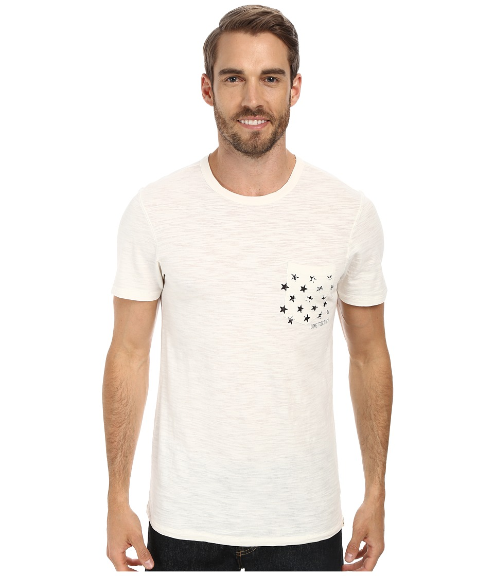 Life is good - Slub Pocket Tee (Simply Ivory) Men