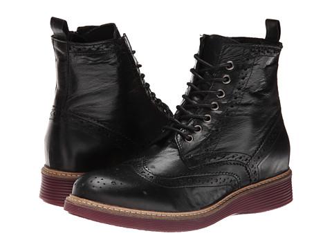 Miz Mooz - Rudy (Black) Women's Zip Boots