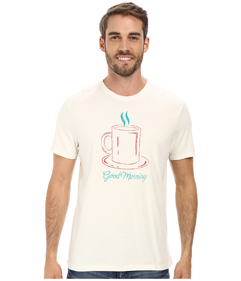 Life is good - Sleep Tee (Simply Ivory) Men's Pajama
