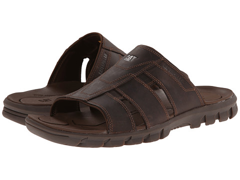 Caterpillar - Allegiance (Dark Brown) Men's Sandals