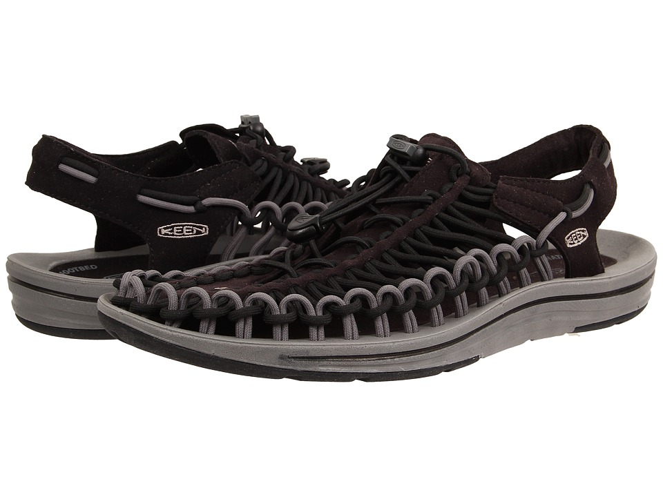 Keen - Uneek (Black Gargoyle) Men's Shoes
