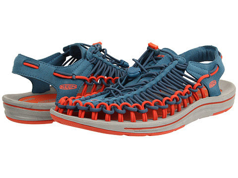 Keen - Uneek (Ink Blue/Red Clay) Men
