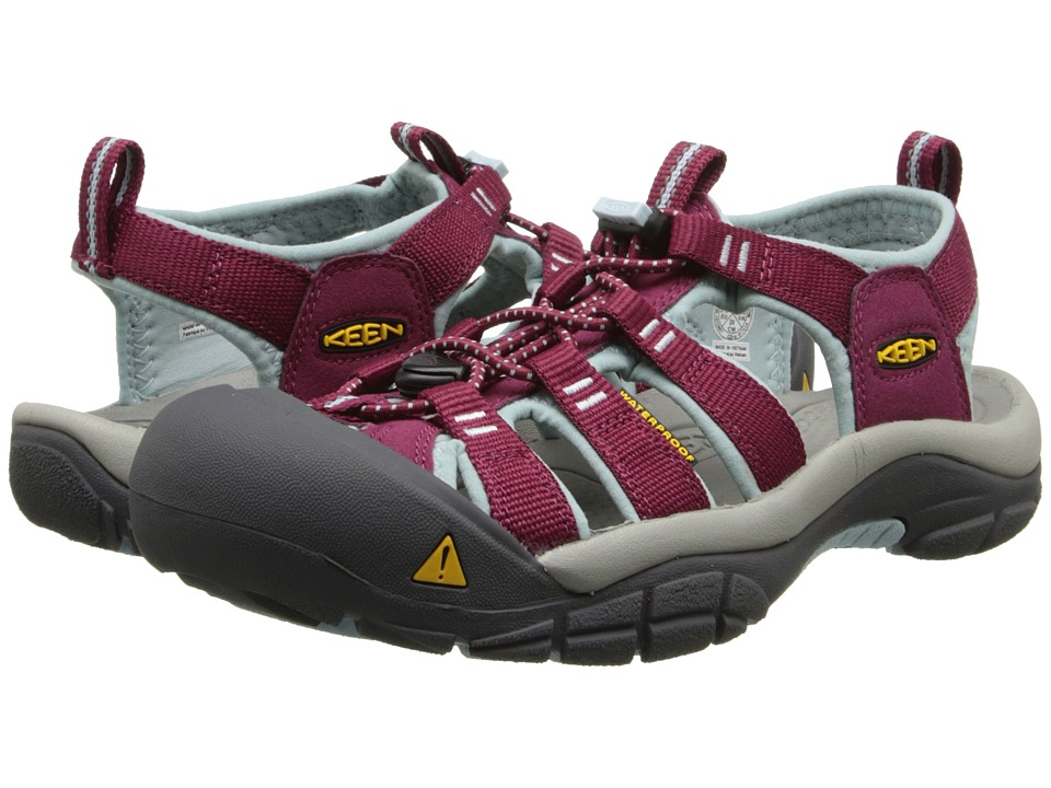 Keen Newport H2 (Beet Red/Corydalis Blue) Women