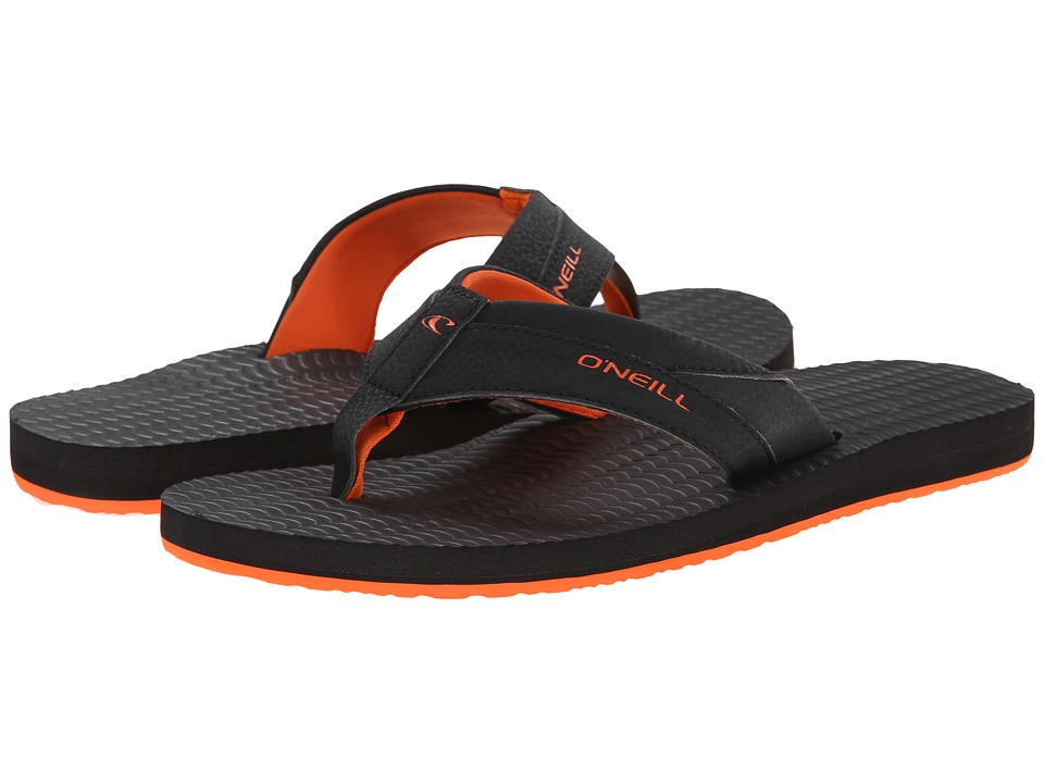O'Neill - Psycho Freak '15 (Orange) Men's Sandals