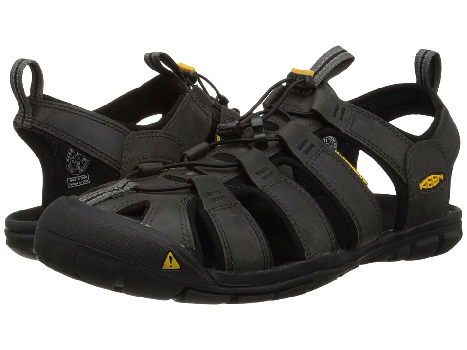 Keen - Clearwater CNX Leather (Magnet/Black) Men