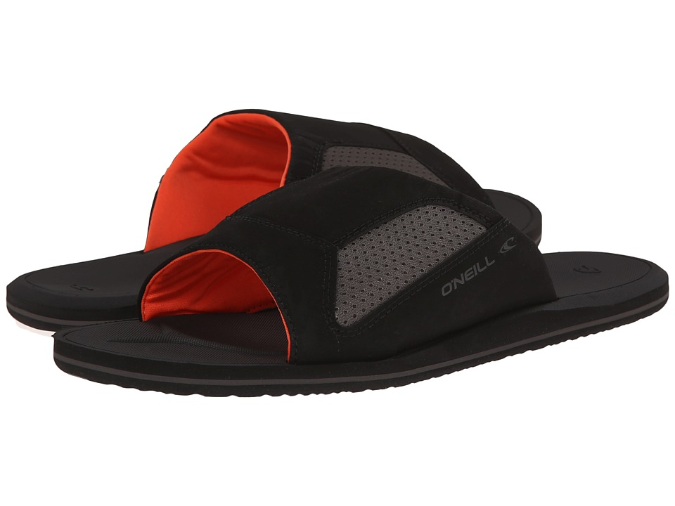 O'Neill - Clean Mean Slide 2 '15 (Black) Men's Slide Shoes