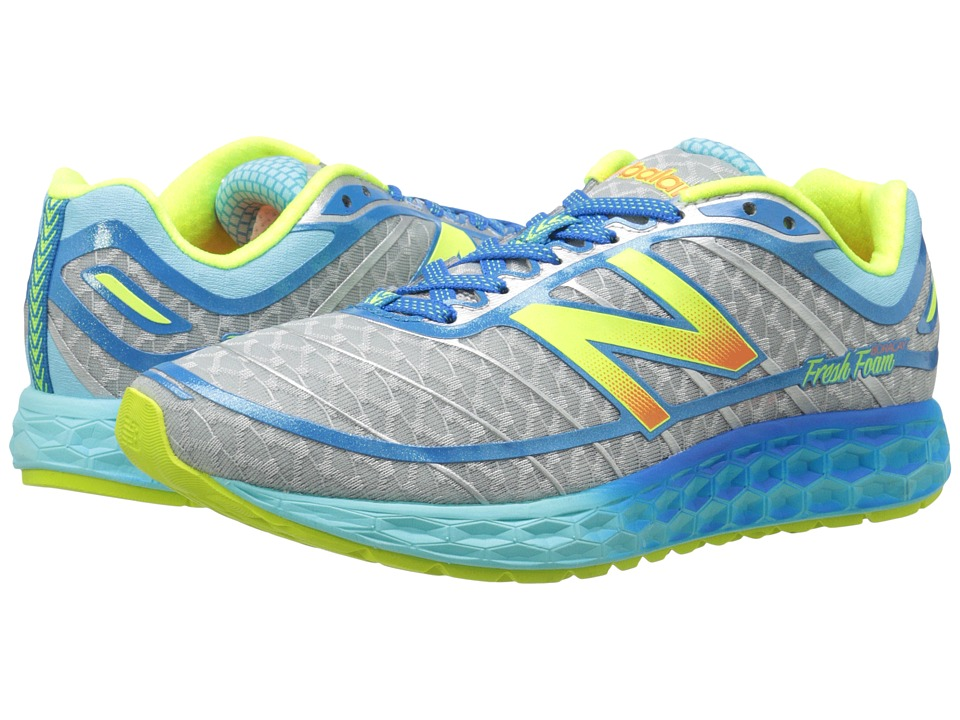 New Balance - Fresh Foam Boracay (Blue/Yellow) Women
