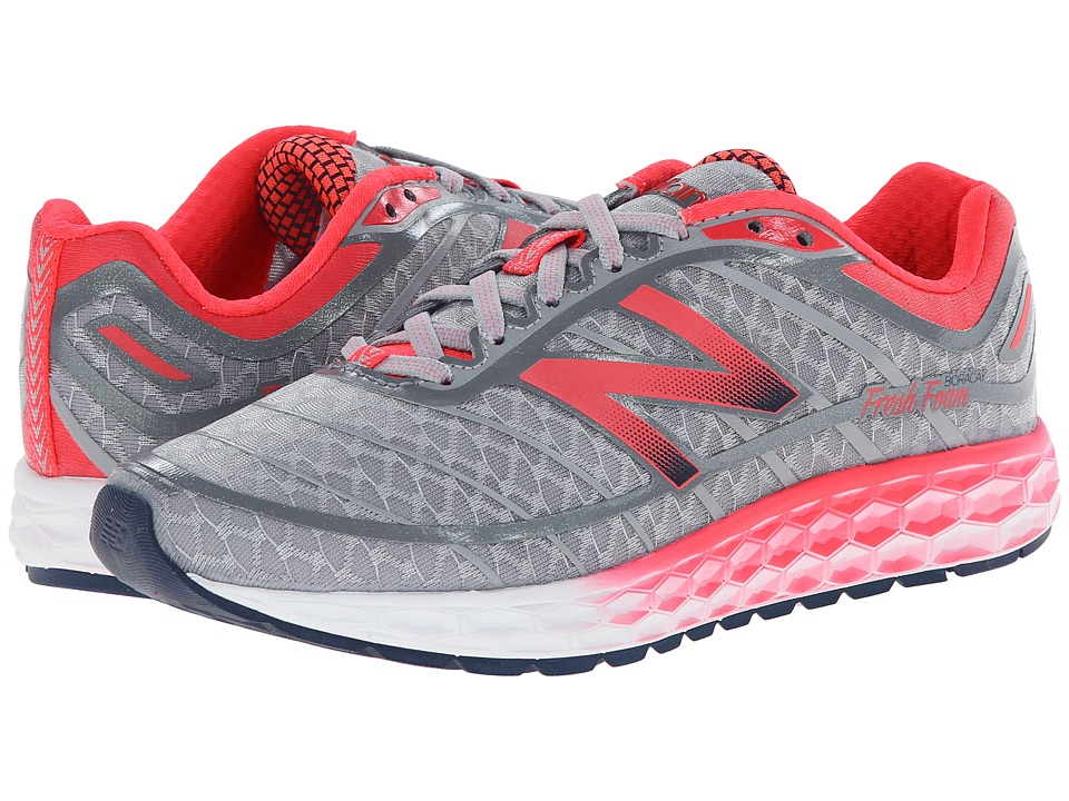 New Balance - Fresh Foam Boracay (Silver/Pink) Women's Running Shoes
