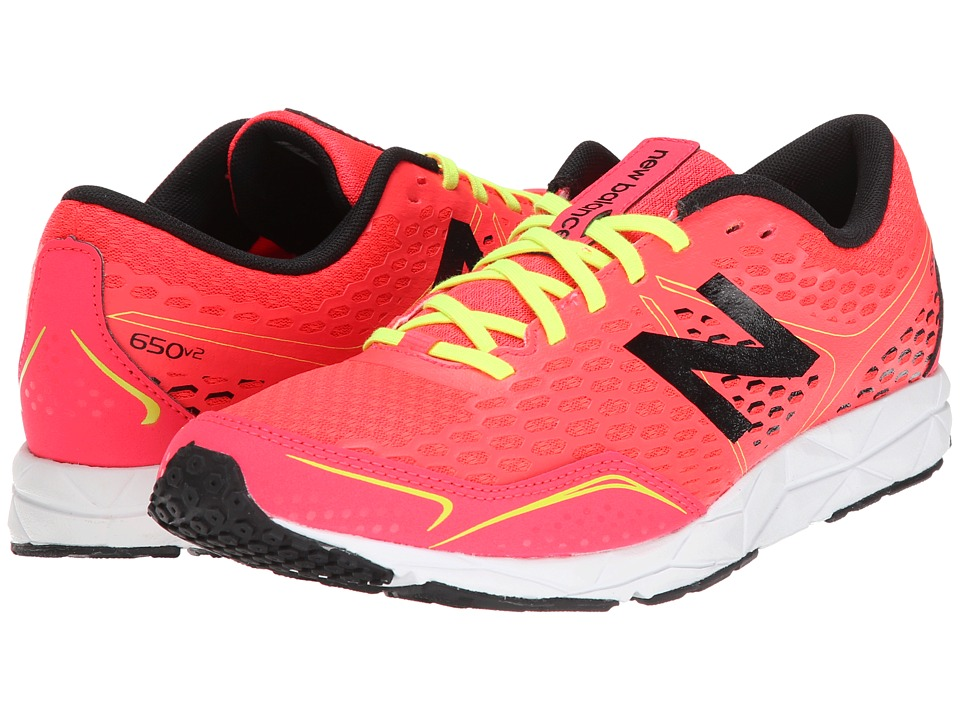 New Balance - W650v2 (Bright Cherry/Black) Women's Running Shoes