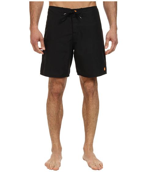 Quiksilver Waterman - Rocky 4 Boardshort (Black) Men's Swimwear