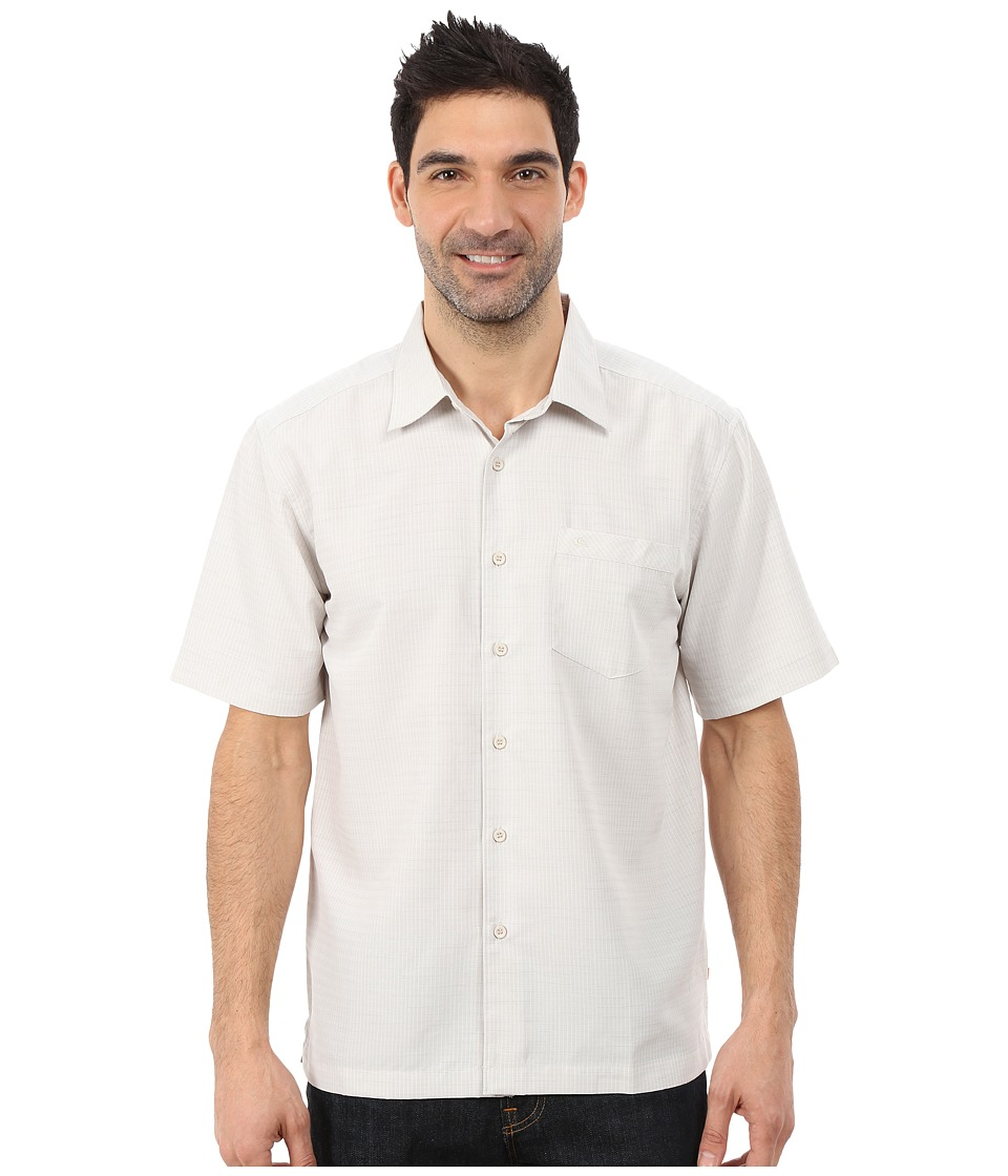 Quiksilver Waterman - Centinela 4 Traditional Polynosic Woven Top (Sandstone) Men's Clothing